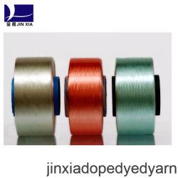 FDY Verdovend middel Geverfte 500d/144f Gloeidraad 100% het Garen van de Polyester voor Textiel