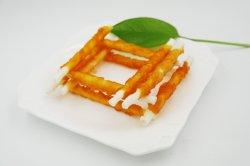 Rawhide Stick fio torcido pelo frango Pet Food