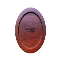 Nastro In Plastica Per Anelli Di Fissaggio In Coaster Per Tazza In Legno Di Alta Qualità Personalizzato In Silicone