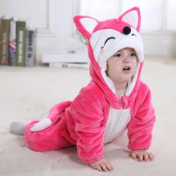 Winter-kleidet warmes neugeborenes Kind-Baby Vlies-Tierart-Kleidungs-Spielanzug-Baby-Kleidung-Cotton-Padded Gesamte