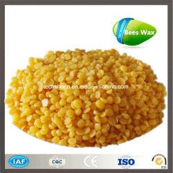 Haute qualité 100% pur jaune et blanc et cire et de cire d'abeille