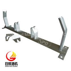 Transportador de correa SPD bastidor tensor, polea galvanizado Frame