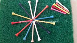 Acceptable OEM Custom Logo Tee de golf en bois