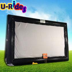 U-manèges personnalisé de haute qualité Ecran de projection gonflable/ écran de cinéma system/ écran de projection gonflables pour la publicité