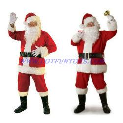 Personnage de bande dessinée Mascot Costume de Noël : Santa Clause (FLEC-01)