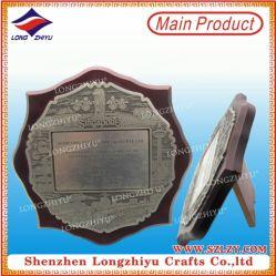 Prix de la plaque de bois décoratifs avec socle