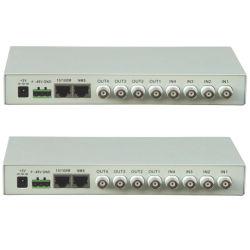 4 E1 на интерфейс Ethernet оптоволоконный преобразователь протоколов (SPT-4E1-ETH)