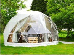 Werbeartikel Outdoor Luxus Translucent Camping Hotel Zelt