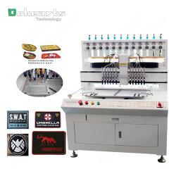 라벨 주입용 3D 액체 PVC 교부 기계, 자동 수동 선량기 기계