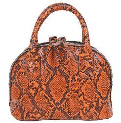 Orange Snake PU Chanel's LV's Purse tradizionale ufficio Moda due Maniglie Lady borsa tote Designers Donna Borse per donna
