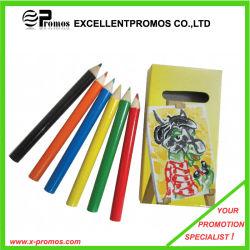 Promoción de 7 pulgadas de alta calidad Multi-Color madera Juego de lápiz (EP-P9075)