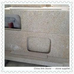 G682 Shangdong Comptoir de cuisine en granit, la vanité Tops, dalles