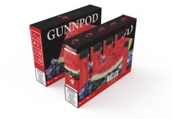 Производитель Gunnpod Vape одноразовые эго фрукты серии E - Прикуриватель первого ряда сидений