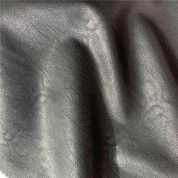 Reverso de tela de gamuza de piel sintética PU de abrigo y prendas de vestir