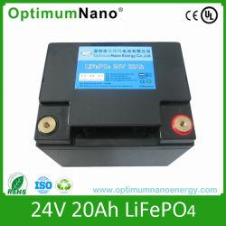 Telecomのための24V20ahリチウム電池(LiFePO4電池)