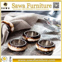 Le bambou Guangzhou Cadre Photo en acier inoxydable serviette de table Ring