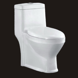 Design de vente chaude avec des prix bon marché à l'aide de l'hôtel Siphonic une seule pièce salle de bain en céramique sanitaire (No. 9032)