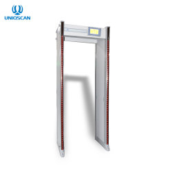 L'inspection à pied par le biais de la vérification de sécurité de la porte du détecteur de métal