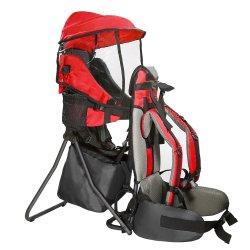 Mais novo bebê Toddler Caminhadas Backpack Carrier Camping Transportadoras de crianças com chuva tampa da Sun