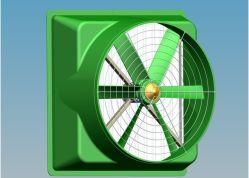 SMC Cone Fan pour Greenhouse (3-Wing)