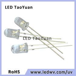 LED Amarelo Azul branco vermelho Emitting Diode Lente água LED redondos de 5 mm
