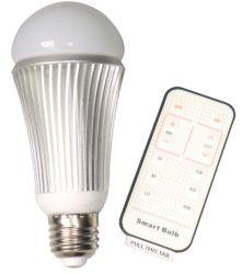 색 온도 및 밝기를 갖춘 고휘도 LED 스마트 전구 조절 가능한 기능