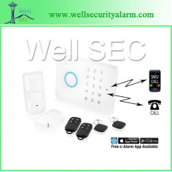 GSM SMS RFIDの警報システム、Alarmas De GSM (WL1301)