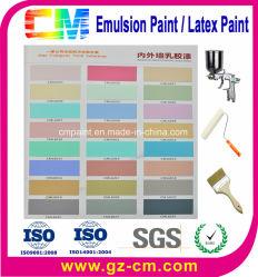 Латексные краски - акриловый внутри помещения на стене с декоративным покрытием