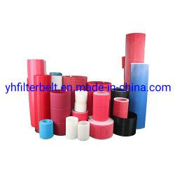 Высшее качество красный плоский передаточной ленты /нажмите ткани/календарь ремни/нетканого материала ремни/передачи или сушки /бумаги машины одежду /нетканого материала полотна формирования тканей