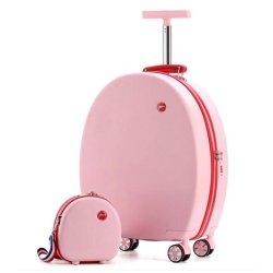 2 ПК установлен передвижной случае пользовательский ход розового цвета крышки багажника
