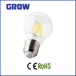 A60 de nouvelles économies d'énergie 7.2W/8W Lampe à incandescence décorative mondial dirigé par l'éclairage