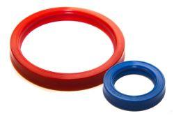 Уплотнения штока одностороннего действия для гидравлических цилиндров