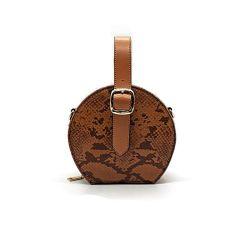 Forme de cercle Concepteur de sac à bandoulière en cuir de PU Custom Fashion femmes sac à main
