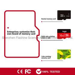 Codice categoria ad alta velocità 10 U1 U3 A1 della scheda di deviazione standard di TF del micro della scheda di memoria di capacità elevata 64GB 128GB dell'OEM C10 ultra oltre H2testw