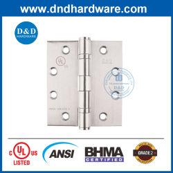 En acier inoxydable 304 ANSI charnière de porte coupe-feu UL Door Hardware