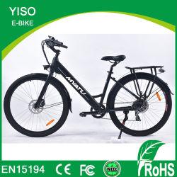 Bici elettrica della città E di alta qualità con l'azionamento della parte posteriore di Bafang/la bicicletta Trekking abbonato degli incrociatori