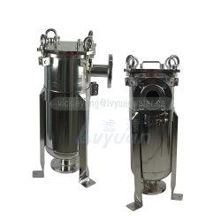 316L solo Multi #1 #2 filtro de mangas de la cesta de acero inoxidable Filtro con el PP/PE/Filtro de Nylon Bolsa de 10 a 50 micrones