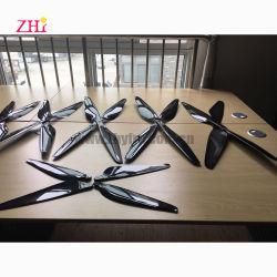 3K de fibra de vidrio de fibra de carbono para la Agricultura de la hélice de avión aviones teledirigidos de pulverización