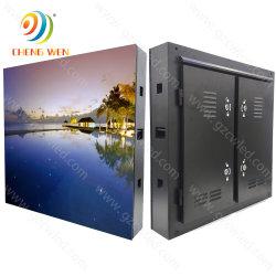 최고 질 옥외 방수 P10 철 내각 RGB 발광 다이오드 표시 IP65 풀 컬러 영상 벽