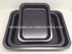 3개의 PCS 세트 스테인리스 탄소 강철 Bakeware