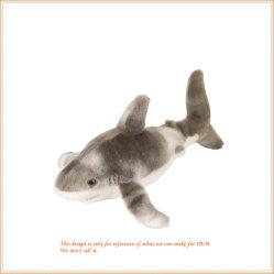 Nach Maß flaumiges Haifisch-Spielzeug-Plüsch-Tier-Kissen
