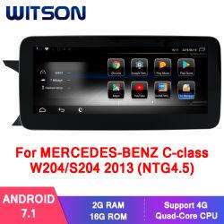 벤즈 C 종류 W204/S204 2013년 (NTG4.5) 2g 16g GPS 다중 매체를 위한 Witson 인조 인간 7.1 차 다중 매체 선수