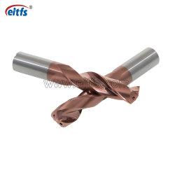 2 de la Flûte Helix Foret en carbure de flûte pour en alliage de titane