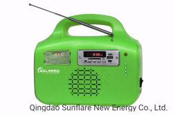 工場供給のWhosales FM Radio/SDのカードか充満携帯電話3pcsx3w LEDの球根の太陽エネルギーエネルギー照明Systems