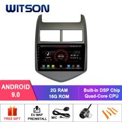 GPS van de Speler van 9.0 Auto DVD van Witson Androïde voor Chevrolet Aveo 2010-2015