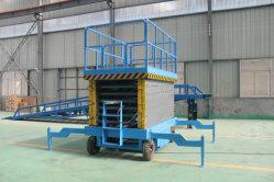 Sleep-type Platform die de Lift van de Schaar met het Platform van de Uitbreiding vouwen