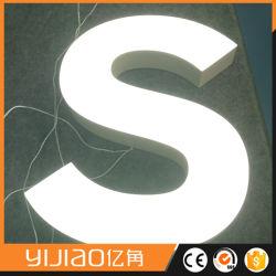Découpe laser Logo de l'alphabet en acrylique