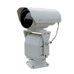 A segurança de perímetro utilizado Dia e Noite térmica PTZ da câmara de imagens