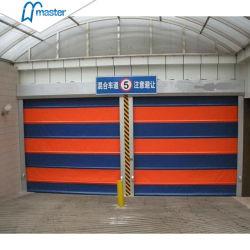 La grande vitesse extérieure en PVC en mouvement rapide de l'intérieur de la porte d'empilage