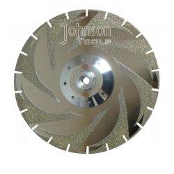 105-300mm galvanisierter Diamant Sägeblätter für Marmor- und keramisches